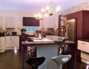 modern kitchen design ideal home show room set
