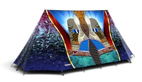 basso and brooke field candy tent couch design news