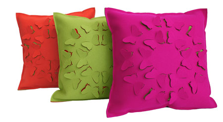 selina rose butterfly cushions bright home decor